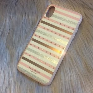 Kate Spade ♠️ iPhone 📱 XS Max Phone Case